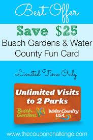 busch gardens williamsburg deals. Busch Gardens Williamsburg Fun Card Discount - Save $25 On A 2-Park Unlimited Admission Deals