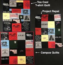Compare Project Repat, Campus Quilts and Too Cool T-shirt Quilts &  Adamdwight.com