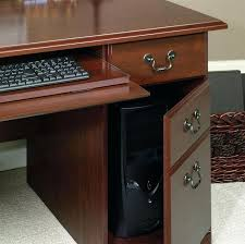cherry custom home office desk. Perfect Cherry Sauder Heritage Hill Executive Desk Classic Cherry Custom  Home Office Furniture Check More In Cherry Custom Home Office Desk