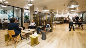 collaborative office collaborative spaces 320. WeWork Has Quietly Launched A Fitness Business That Uses Empty Spaces In Its Offices As Pop-up Studios. (Courtesy Of WeWork) Collaborative Office 320