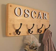 Name Coat Rack Personalized Children S Coat Rack Tradingbasis 33