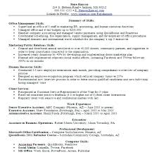 General Resume Skills Examples Interesting Skills Sample For Resume Sample Resume Job Skills Qualifications And