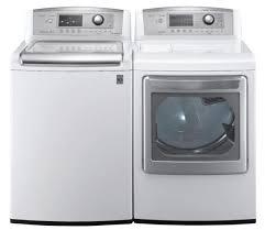 lg waveforce washer. Perfect Washer LG WT5170HW 47 CU FTTOP LOAD WASHER W WAVEFORCE COLDWASH  DLEX5170W  73 FT STEAM ELECTRIC DRYERWHITE FACTORY REFURBISHED On Lg Waveforce Washer W