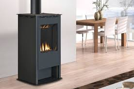 modern gas stoves. Modern Direct Vent Freestanding Gas Stove. Features And Benefits Finish  Options- Satin Black, Steel Grey. Modern Stoves N