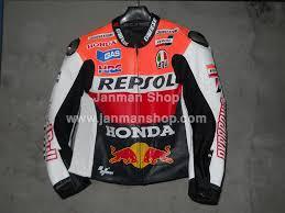 honda repsol one heart motorbike jacket