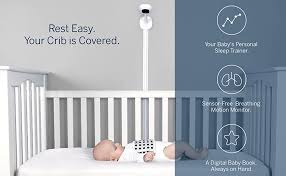 Nanit Complete Monitor System with Breathing Motion: Nanit Plus Wall Mount  + Multistand + Starter Set, one small swaddle and one small band:  Amazon.ca: Baby