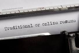 Best Online Resumes Traditional Vs Online Resume Choose The Best One