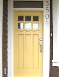 yellow front door color feng shui