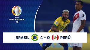 VIDEO/ Brasile Perù (risultato 4-0) gol e highlights: dominio verdeoro  (Copa America)