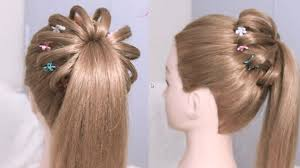 Pony Tail Hair Style high ponytail hairstyle for long hair braided ponytail tutorial 2460 by wearticles.com