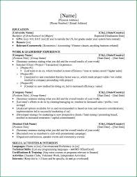 University Student Investment Banking Resume Template Format Of CV For StudentsUniversity Student Investment Banking 1