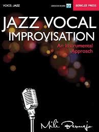 jazz vocal improvisation an instrumental approach