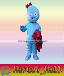 mall420 professional custom lggle piggle mascot costume cartoon character theme anime cosply mascotte costumes fancy dress kits for clearance