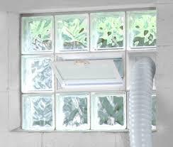 bronze glass block pattern redi2set basement window