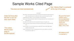 How Do You Do A Works Cited Page Tuesday January 3 2017 Aim What Is A Works Cited Page