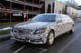 Mercedes-Maybach Pullman Spied Up Close - GTspirit
