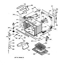 general electric jtp16gv2bb built in electric oven timer stove jtp16gv2bb built in electric oven body parts diagram