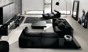 interior black and white interior living room design featuring
