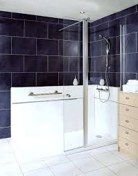 fixed glass shower panel elegance with hinged flipper single partition frameless screens