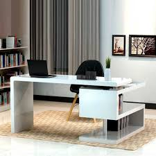 stylish home office chairs. combine black chair and modern white office desk for stylish home with brown carpet chairs
