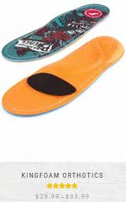 Footprint Insoles Size Chart Buying Guide Footprint Insole Technology