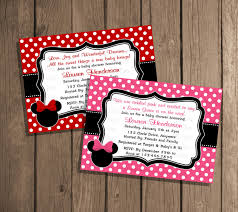 Minnie Mouse Baby Shower Decorations Cute Minnie Mouse Baby Shower Invitations Dolanpedia Invitations