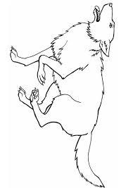 Kleurplaat Wolf Afb 8917 Images