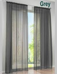 2 Pcs Concise Deutsch Hohe Dichte Terylene Garn Fenster Vorhang Gute