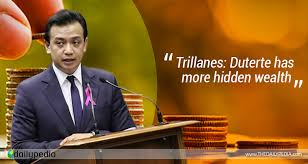 Image result for Trillanes before Duterte during meeting