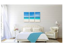 240 00 usd canvas beach decor triptych large  on oversized print wall art with photography for sale canvas beach decor triptych large wall art