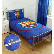 Liverpool Bedroom Accessories Barcelona Bedding And Bedroom Accessories Boys Football New Ebay