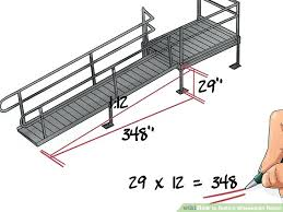 how to build a ramp over stairs image titled build a wheelchair ramp step 6 how