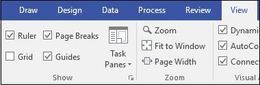 A staple of excel, but also included in visio, charts and graphs are seen in almost every business presentation. Microsoft Visio Quick Guide Tutorialspoint
