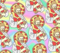 pizza tumblr background. Plain Pizza Jesus Pizza And Background Image Inside Pizza Tumblr Background B