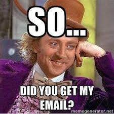 Image result for email spam meme