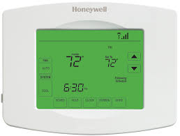 automatic wi fi thermostat touchscreen rth8580wf honeywell
