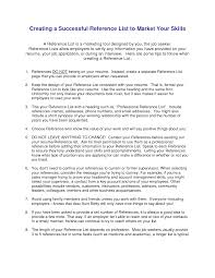 Are References Needed On A Resume Resume For Your Job Application