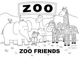 Small Picture Download Printable coloring pages zoo animals cartoonrocks