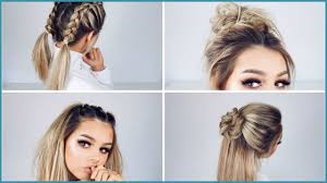 Cute Quick Easy Hairstyles 231500 Cute Quick Updo Hairstyles For