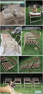 diy patio chair before after