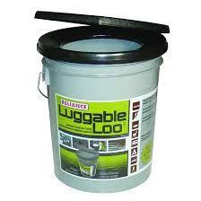 reliance portable bucket toilet