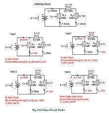 open circuit faults open circuit faults