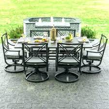 6 person patio dining set patio dining sets for 6 outdoor furniture swivel rocker chair fancy patio dining sets 6 person audubon 6 person aluminum patio