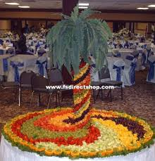 Fruit Palm TreesFresh Fruit Tree Display