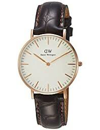 amazon co uk daniel wellington watches daniel wellington women s quartz watch classic york lady 0510dw leather strap
