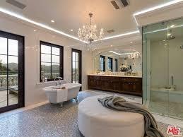 bathroom strip lighting. contemporary master bathroom with undermount sink lampux 110120v flexible waterproof led strip light lighting