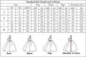 Wedding Dresses Wedding Dress Size Chart