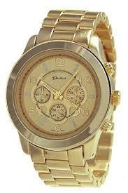 geneva gold men s watch 35 geneva men s gold watch metal geneva gold men s watch 35 geneva men s gold watch metal band three
