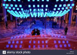 luminaries spectacular lighting display. Luminaries - A Spectacular Lighting Display At The Winter Garden, Brookfield Place, New York City, U