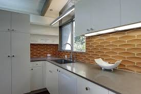 mid century modern kitchen cabinets white and wood kitchen in a modern style mid century modern